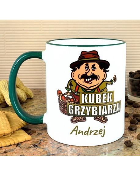 Kubek Grzybiarza - personalizowany prezent
