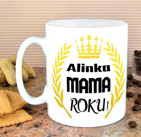 Kubek dla Mamy - Mama Roku - personalizowany prezent