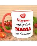 Kubek dla Mamy - Najlepsza Mama - prezent personalizowany