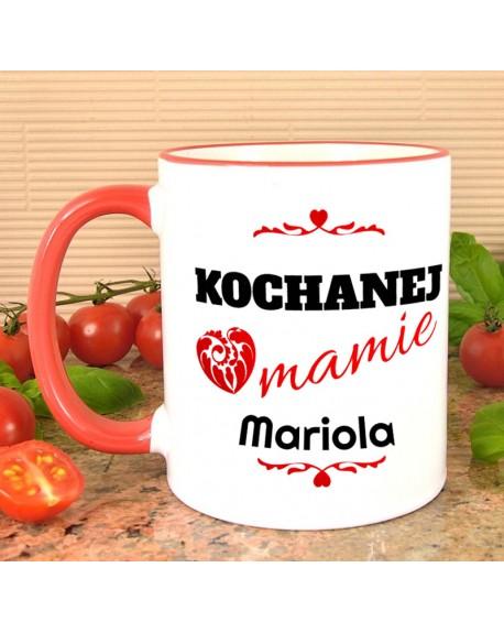Kubek dla Mamy - Kochanej Mamie - prezent personalizowany