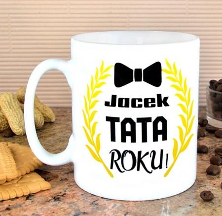 Kubek dla Taty - Tata Roku - personalizowany prezent z imieniem