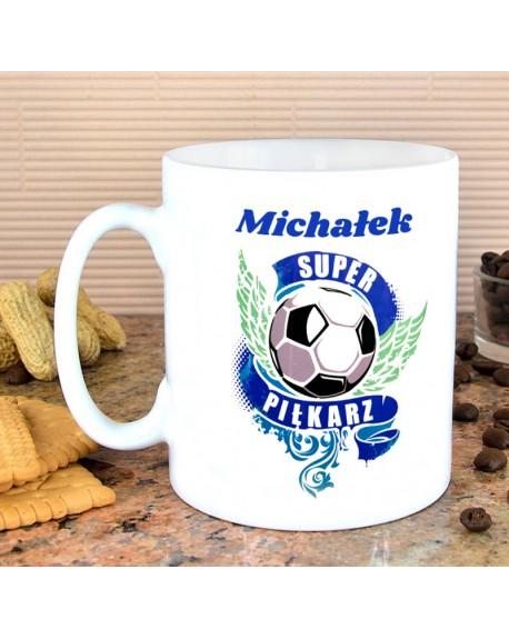 Kubek dla Super Piłkarza - personalizowany prezent