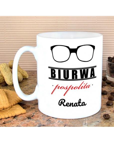Kubek Biurwa Pospolita - prezent personalizowany