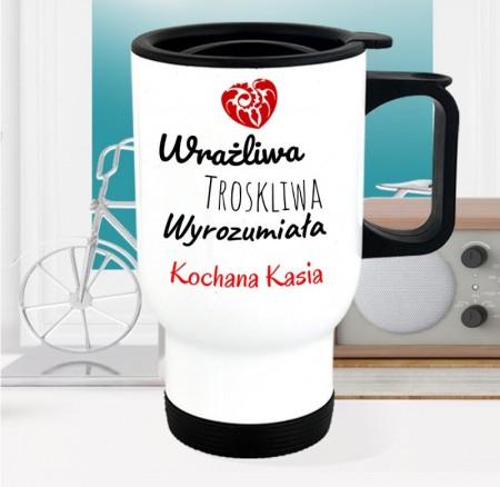 Personalizowany kubek termiczny dla Kobiety - wyjątkowy prezent