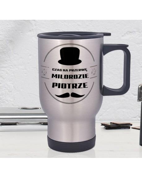 Kubek termiczny Milorda - personalizowany prezent z imieniem