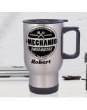 Kubek termiczny dla Mechanika - personalizowany prezent z imieniem