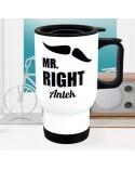 Kubek termiczny MR RIGHT - personalizowany prezent dla faceta