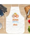 Fartuszek kuchenny dla Żony - Żona Idealna - personalizowany prezent