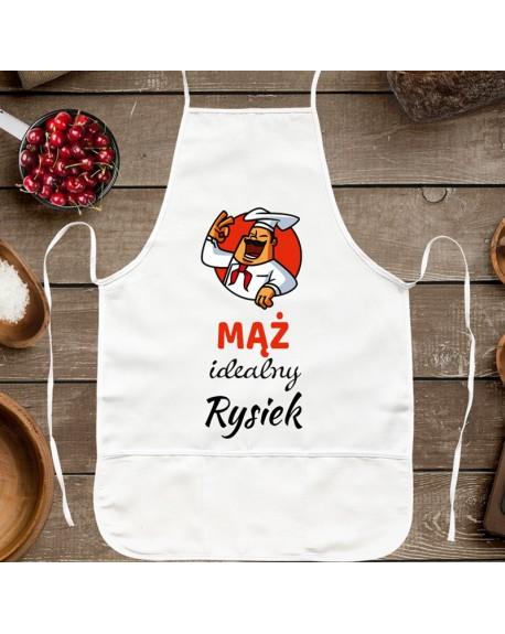 Fartuch kuchenny prezent dla Męża - personalizowany prezent