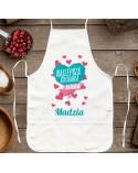 Fartuch kuchenny dla Mamy - Najlepsza Kucharka - prezent personalizowany