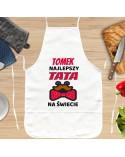 Fartuch kuchenny Najlepszy Tata na Świecie - prezent personalizowany