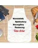 Fartuch kuchenny personalizowany prezent dla Taty - własne napisy
