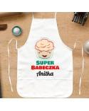 Fartuch kuchenny Super Babeczka - prezent dla kobiety