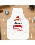 Fartuch kuchenny prezent dla Cukierniczki - personalizowany