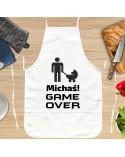 Fartuch kuchenny prezent dla Niego - GAME OVER