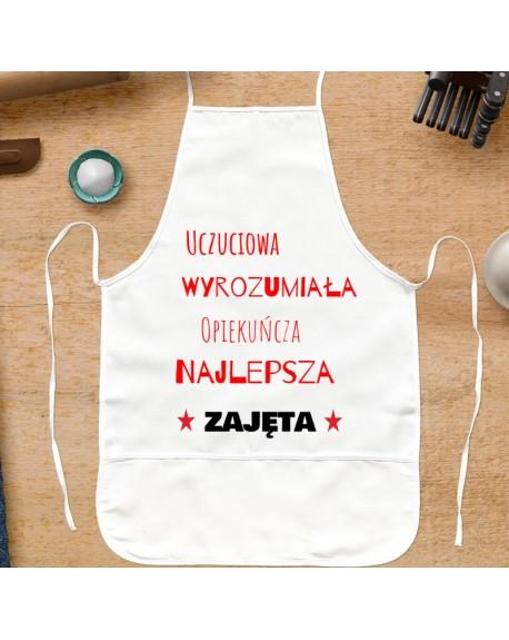 Fartuch kuchenny prezent dla Niej - personalizowany