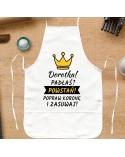 Fartuch kuchenny Padłaś? Powstań! - personalizowany prezent dla Niej
