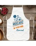 Fartuch kuchenny prezent dla Faceta - MOCARZ - personalizowany