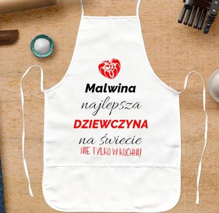 Fartuch kuchenny prezent dla Kobiety - personalizowany