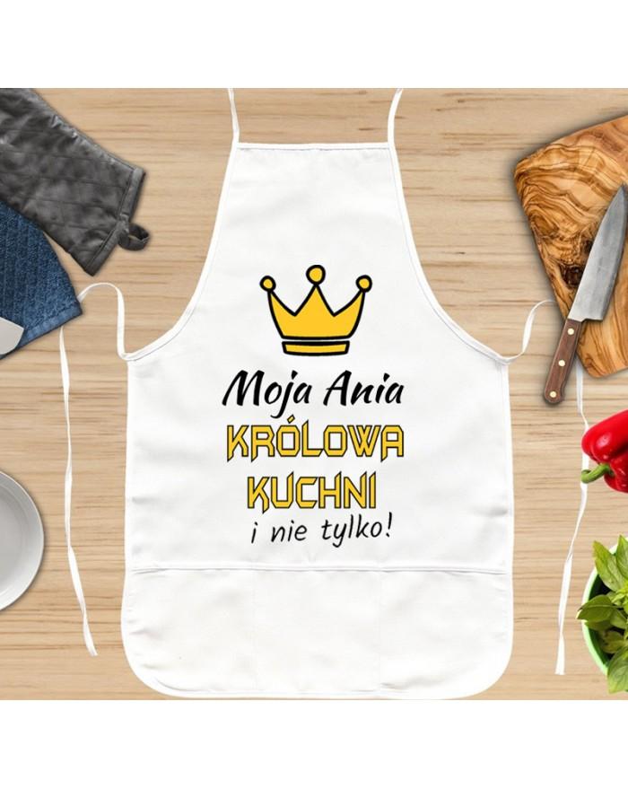 Fartuch Kuchenny Królowa Kuchni Dla Niej 321prezentpl