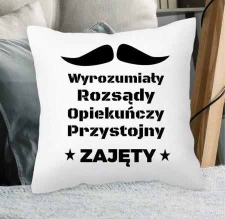 Poduszka prezent dla Chłopaka - personalizowana