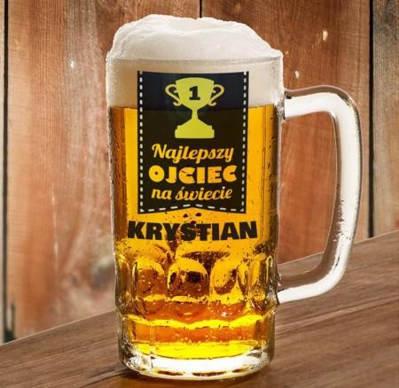 """Kufel dla Taty """"Puchar"""" - personalizowany prezent"""