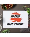 Deska do krojenia personalizowana dla Niej - Rządzę w kuchni!