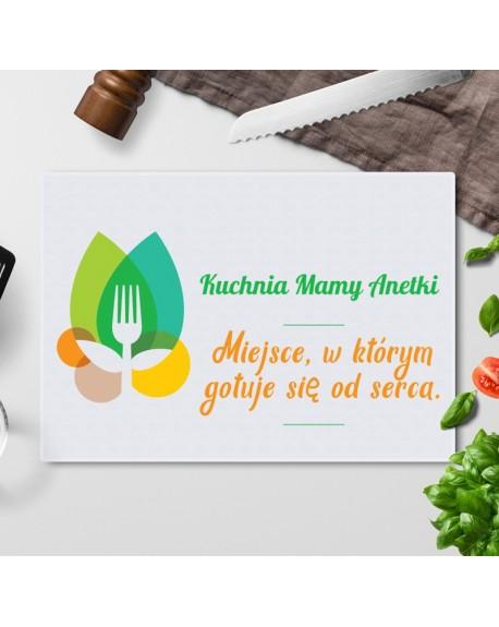 Deska do krojenia personalizowany prezent dla Mamy - Kuchnia Mamy