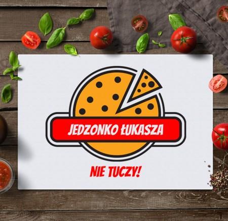 Deska do krojenia Pizza - nie tuczy - personalizowany prezent