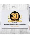 Deska do krojenia prezent na 30 urodziny - personalizowany