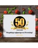 Deska do krojenia prezent na 50 urodziny