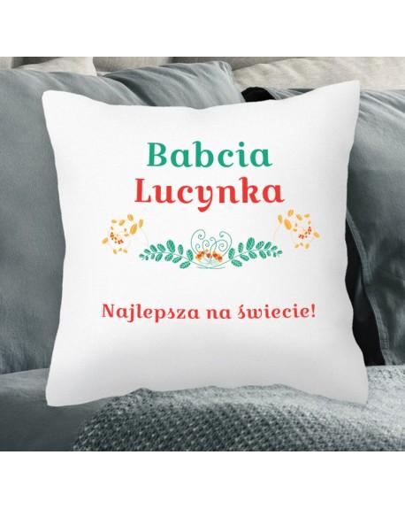 Poduszka prezentowa dla Niej - personalizowany prezent