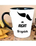 Kubek Latte MR. RIGHT - personalizowany prezent