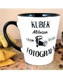 Kubek latte personalizowany dla Fotografa