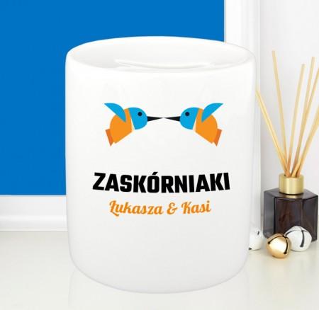 Skarbonka na prezent - Ptaszki Zaskórniaki