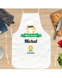 Personalizowany Fartuch kuchenny dla Niego - Certyfikat Gotowania