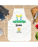 Personalizowany Fartuch kuchenny dla Niej - Certyfikat Gotowania