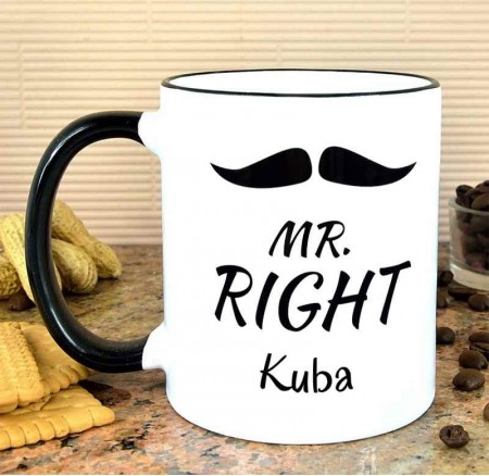 Kubek personalizowany MR. RIGHT